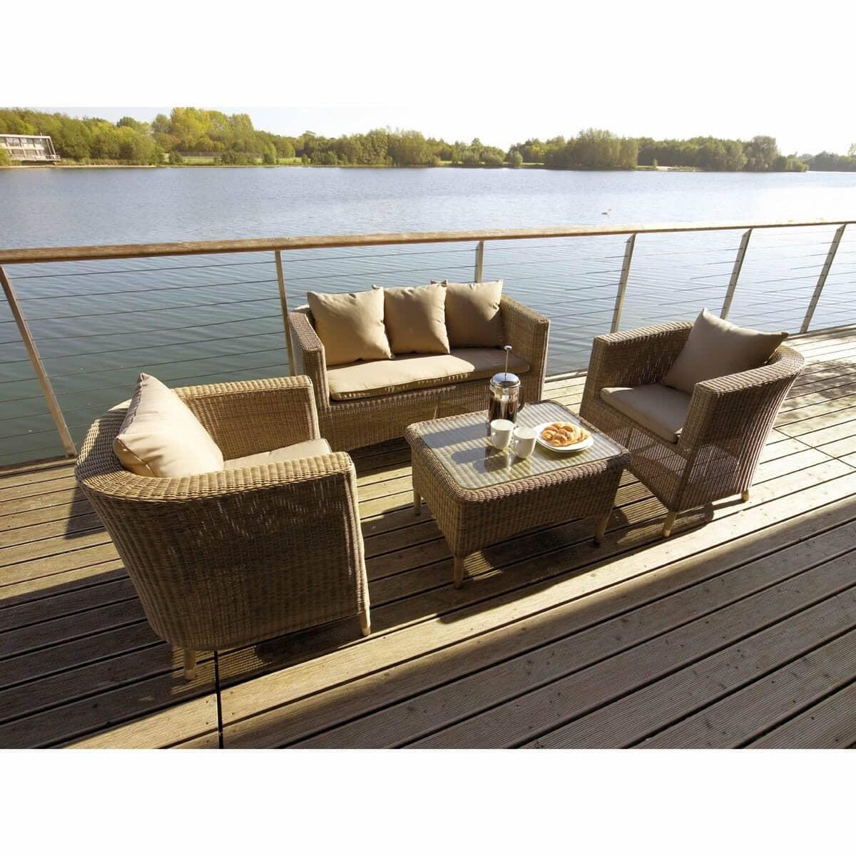 bramblecrest sahara classic sofa set sahset01 garden. Black Bedroom Furniture Sets. Home Design Ideas