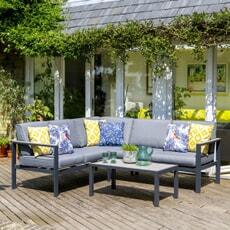 LG Outdoor Turin Modular Lounge Corner Set