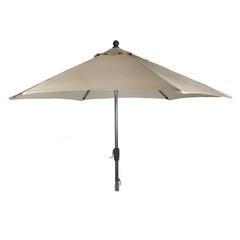 Kettler 2.9m Wind Up Parasol Grey/Truffle