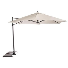 Kettler 3.5m Free Arm Parasol Natural