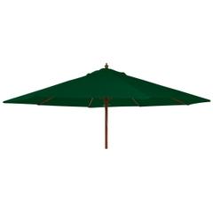 Alexander Rose 2.7m Wooden Parasol Green