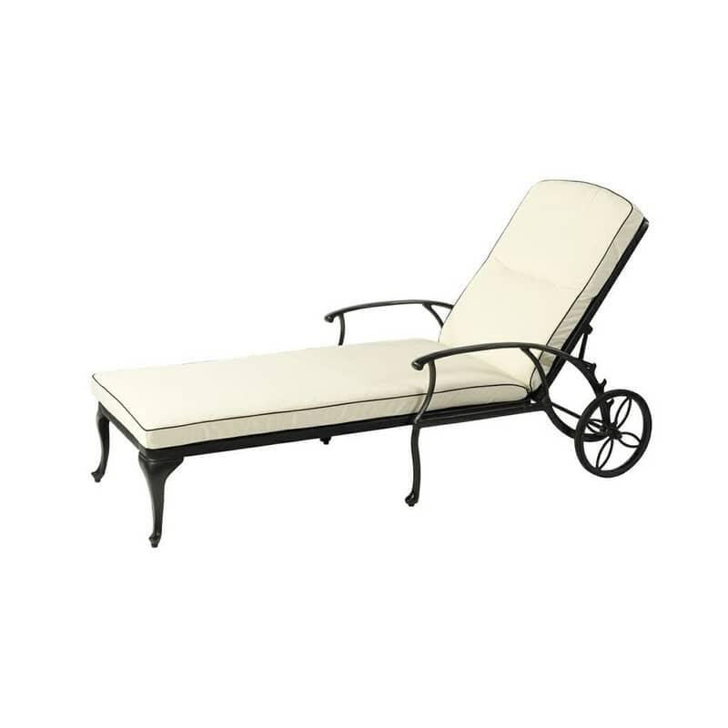 Bramblecrest Portofino Lounger Cushion Natural W Uplg3