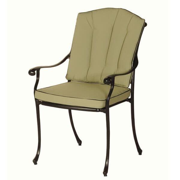 Bramblecrest Cast Aluminium Chair Back Cushion Olive