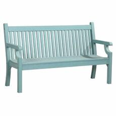 Winawood Sandwick 3 Seat Thin Slat Bench Blue