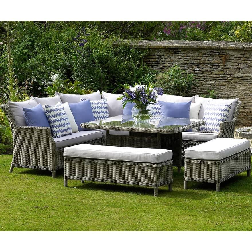 bramblecrest oakridge modular sofa with square casual. Black Bedroom Furniture Sets. Home Design Ideas