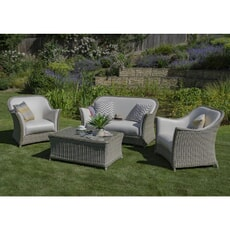 Bramblecrest Monte Carlo 2 Seat Sofa with 2 Sofa Armchairs and Coffee Table