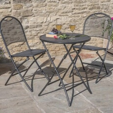 Kettler Caffe Roma Set - Grey