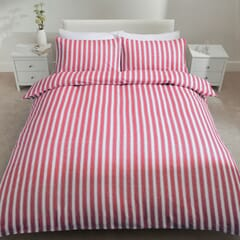 Stripe Brushed Cotton Red