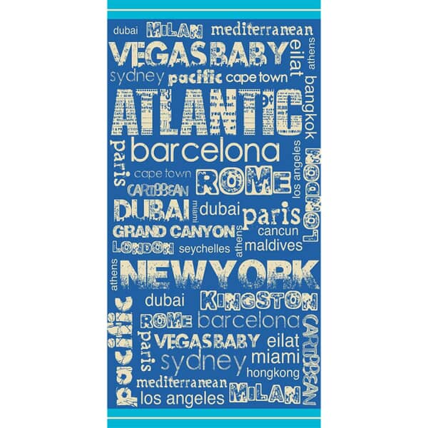 New Destination Beach Towel