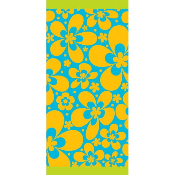 Petal  Beach Towel