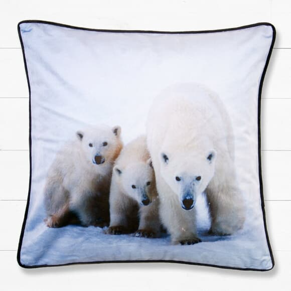 Catherine Lansfield Polar Bear Cushion large