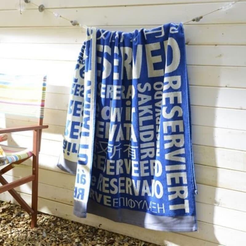 Deyongs Reserved Beach Towel large
