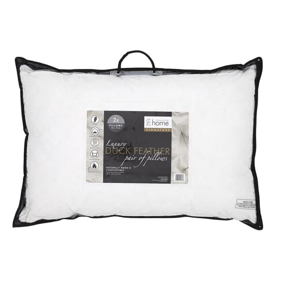 Catherine Lansfield Duck Feather Pillow large