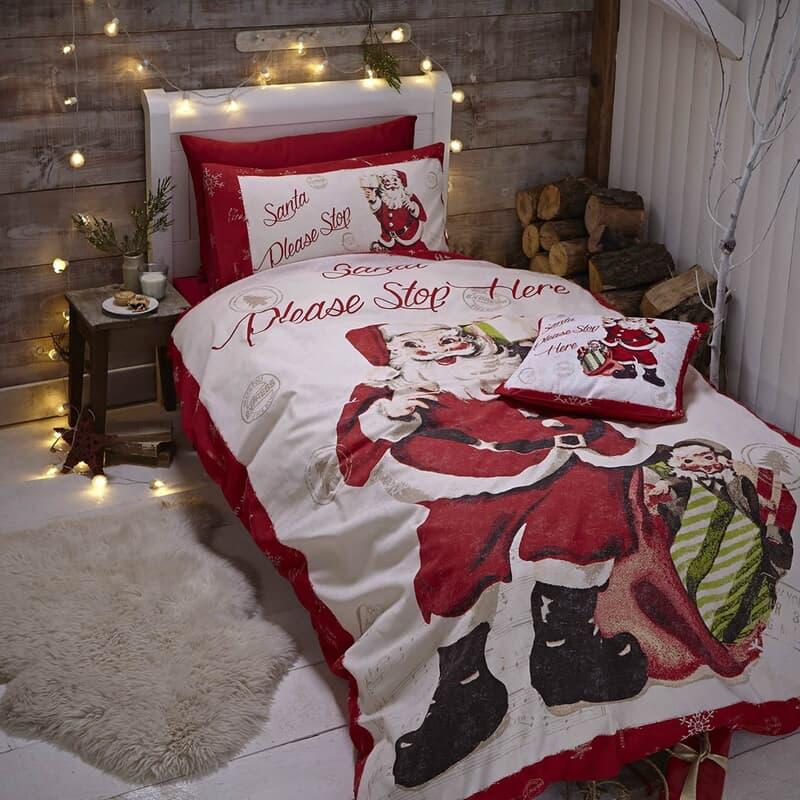 Catherine Lansfield Retro Santa large