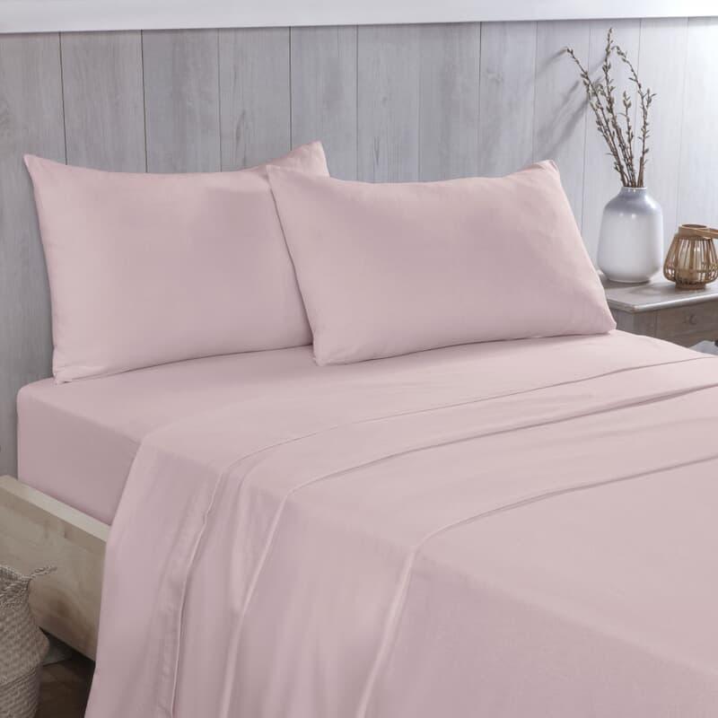 Vantona Flannelette Pink large