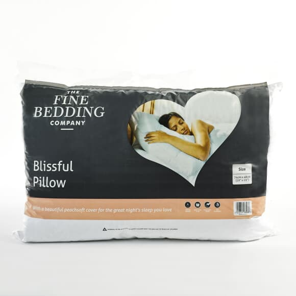 Fine Bedding Co Blissful Pillow large