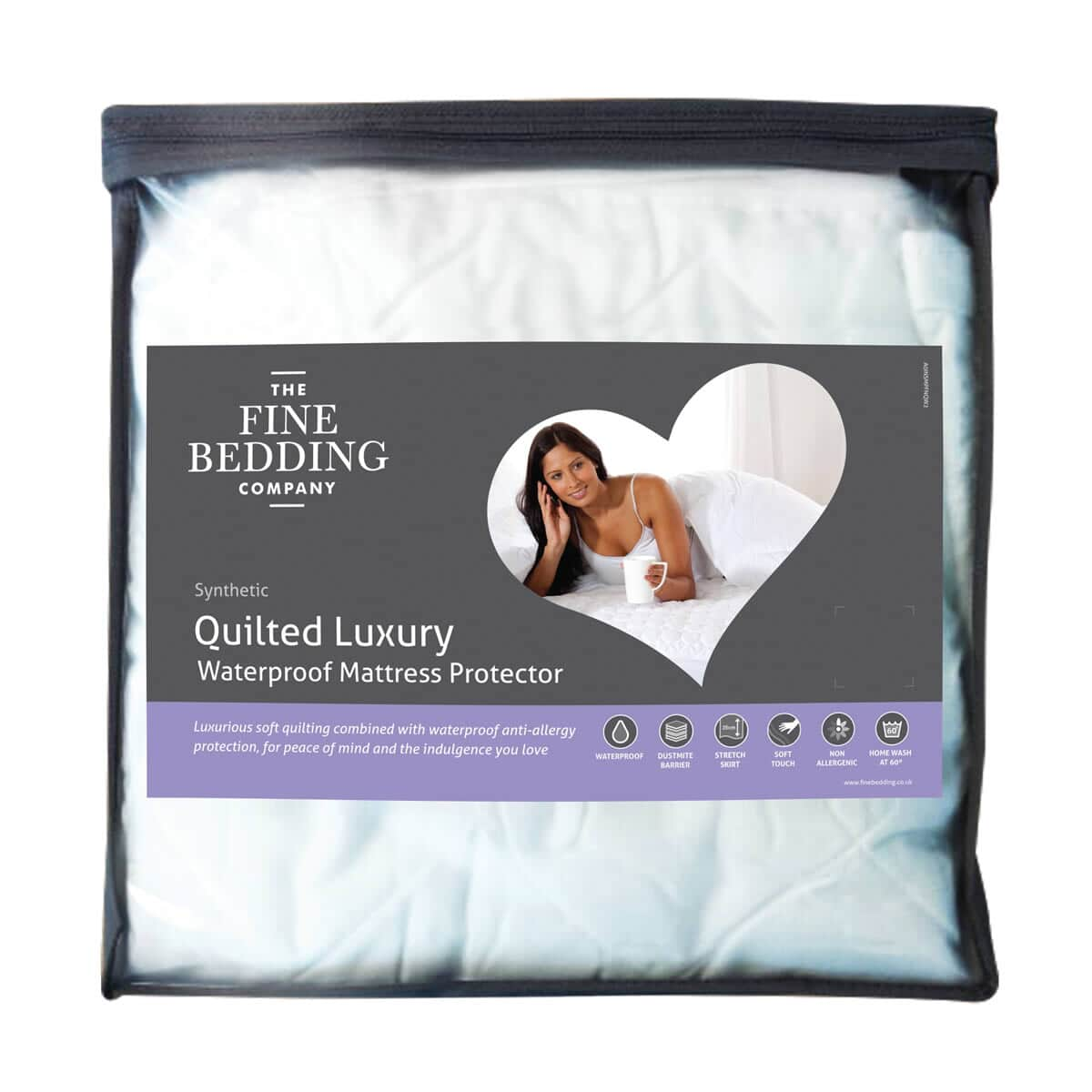 Fine Bedding Co Quilted Luxury Waterproof Protectors large