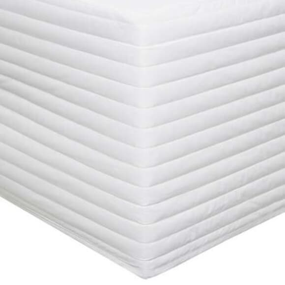 Sheridan Snow White Quilted Bedskirt large