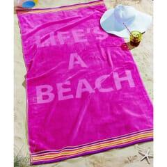Lifes a Beach Pink