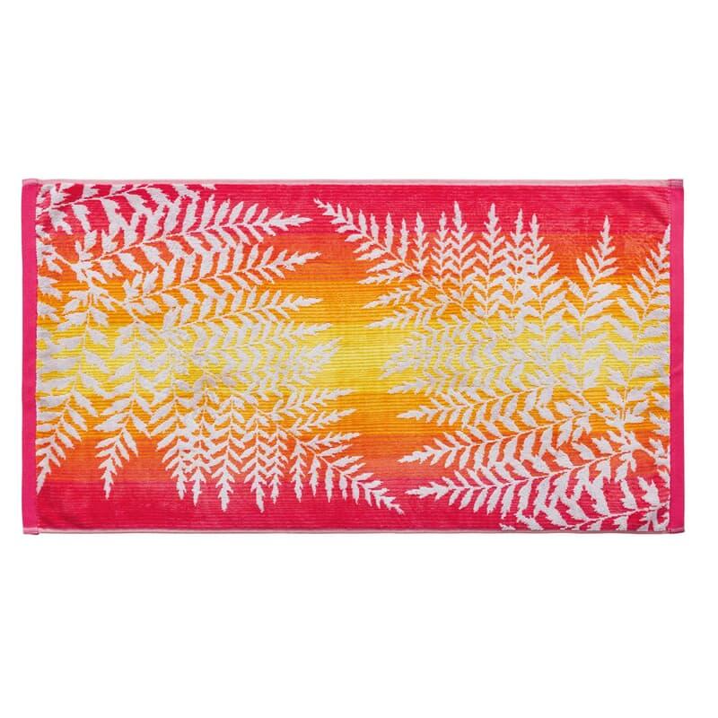 Clarissa Hulse Filix Towels Coral large