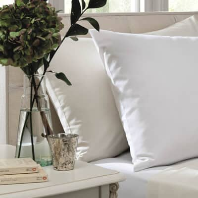 Plain Dye 200 T/C White