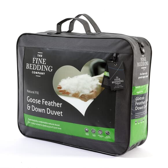 Fine Bedding Co Goose Feather and Down large