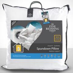 Fine Bedding CoSpundown Square Pillow