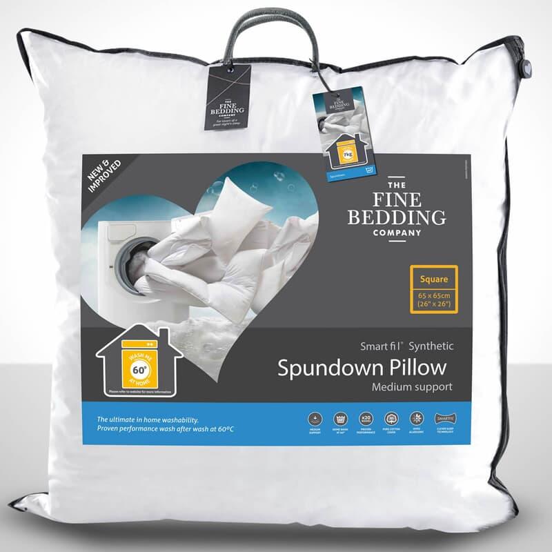 Fine Bedding Co Spundown Square Pillow large