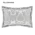 Catherine Lansfield Damask Jacquard Silver small 4353D