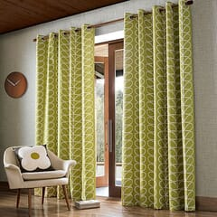 Linear Stem Curtains Olive