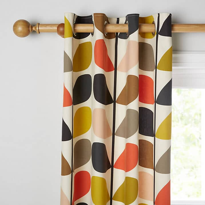 Orla Kiely Multi Stem Curtains Small 4363B
