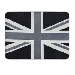 Union Jack Grey Throw