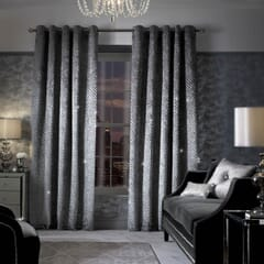 Grazia Silver Curtains