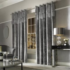 Veda Silver Curtains