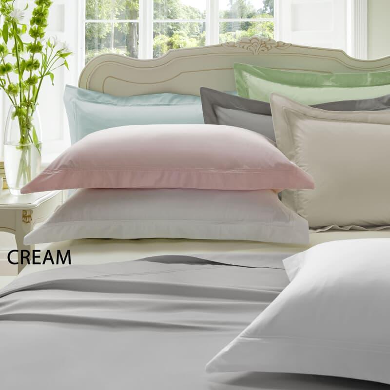 Dorma Plain Dye Cream 300 T/C large