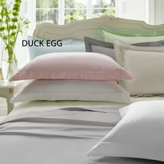 Plain Dye Duck Egg 300 T/C