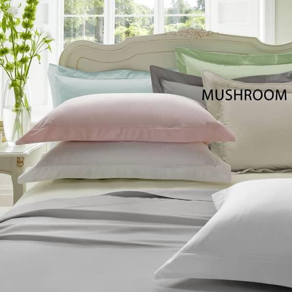 Plain Dye Mushroom 300 T/C