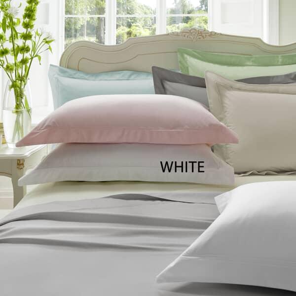 Plain Dye White 300 T/C