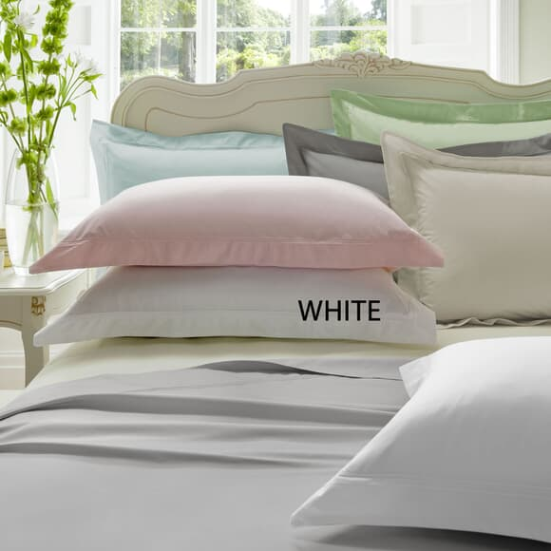 Dorma Plain Dye White 300 T/C large