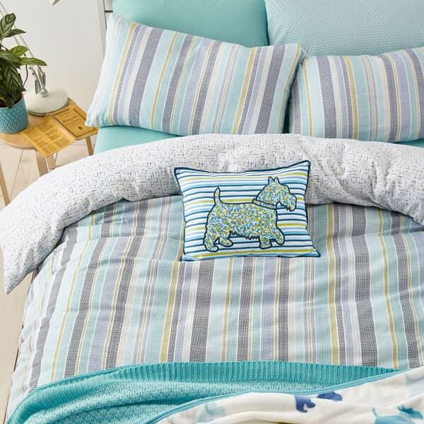 Lexi Aquamarine Flannelette