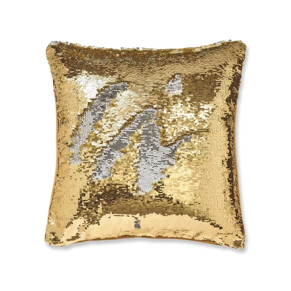 Catherine Lansfield Sequin Mermaid Gold large