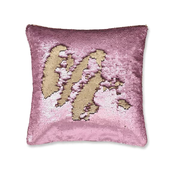 Catherine Lansfield Sequin Mermaid Rose Gold large