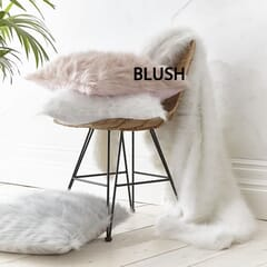 Metallic Fur Blush
