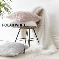 Metallic Fur Polar White