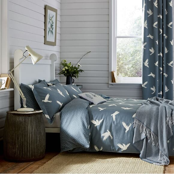 Sanderson Home Paper Doves Denim large