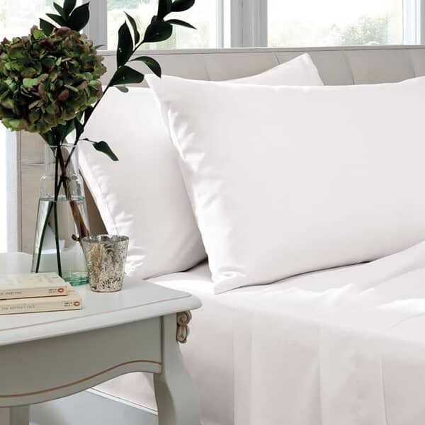 200 T/C Egyptian Cotton Percale White