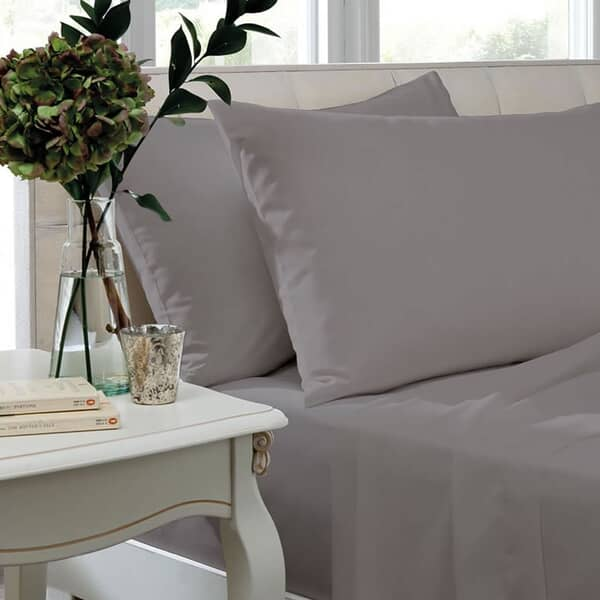 200 T/C Egyptian Cotton Percale Silver