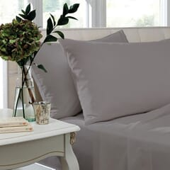 1000 T/C Egyptian Cotton Silver Grey