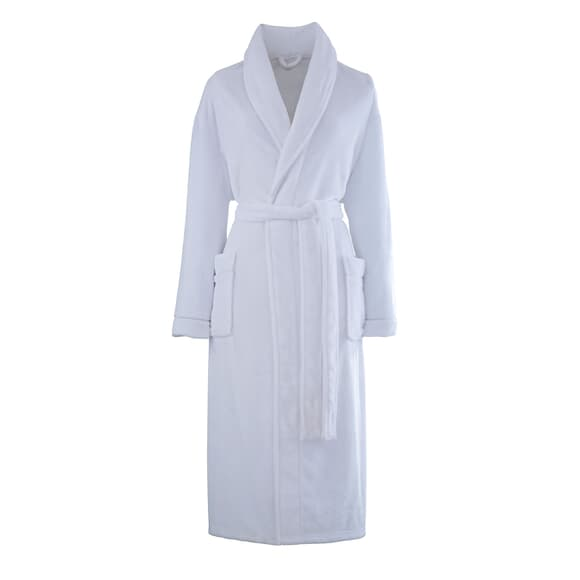 Catherine Lansfield So Soft Robe White large