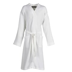 Mali Waffle Robe White